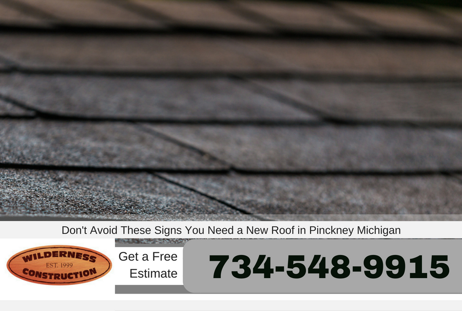 Don't Avoid These Signs You Need a New Roof in Pinckney Michigan