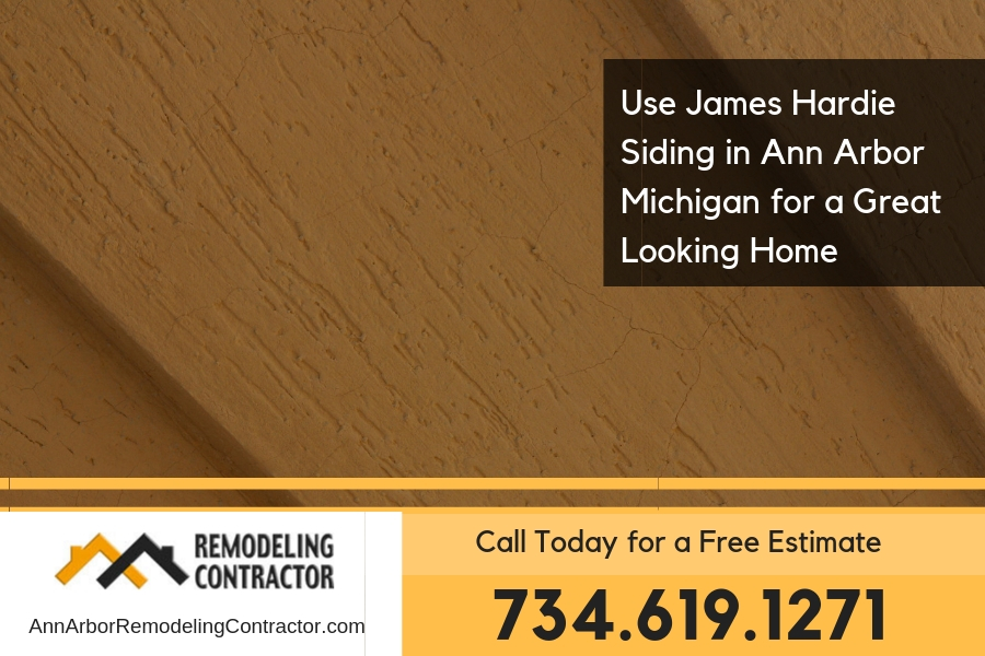Use James Hardie Siding in Ann Arbor Michigan for a Great Looking Home
